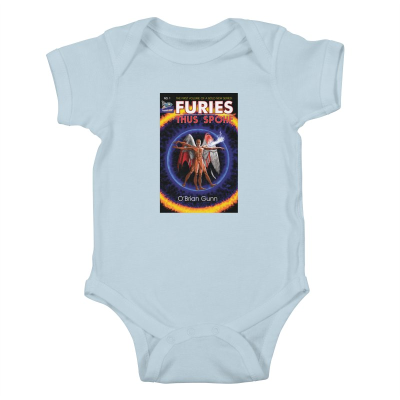 Furies: Thus Spoke (Full Cover) Kids Baby Bodysuit by Spaceboy Books LLC's Artist Shop