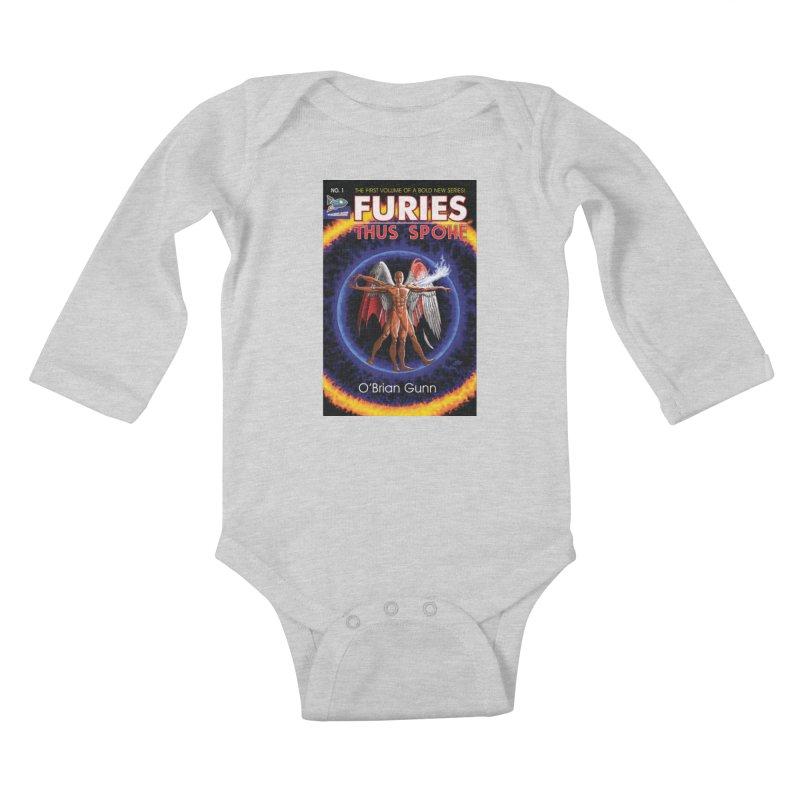 Furies: Thus Spoke (Full Cover) Kids Baby Longsleeve Bodysuit by Spaceboy Books LLC's Artist Shop