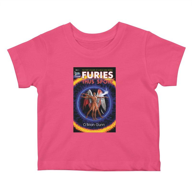 Furies: Thus Spoke (Full Cover) Kids Baby T-Shirt by Spaceboy Books LLC's Artist Shop