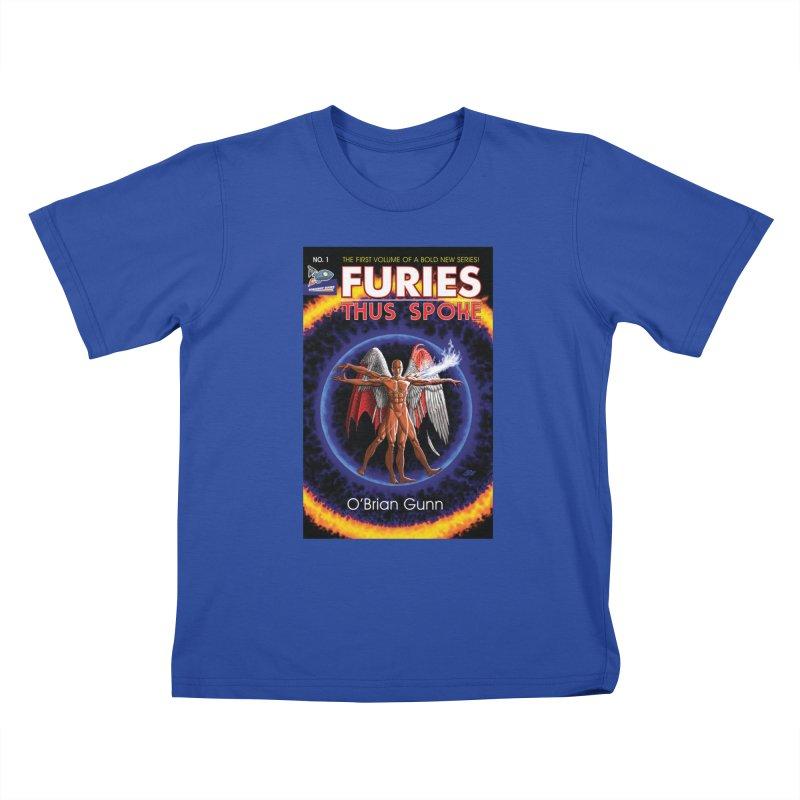 Furies: Thus Spoke (Full Cover) Kids T-Shirt by Spaceboy Books LLC's Artist Shop