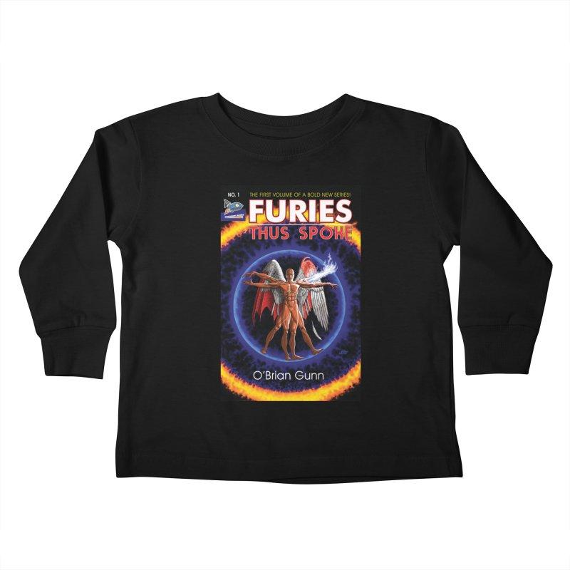 Furies: Thus Spoke (Full Cover) Kids Toddler Longsleeve T-Shirt by Spaceboy Books LLC's Artist Shop