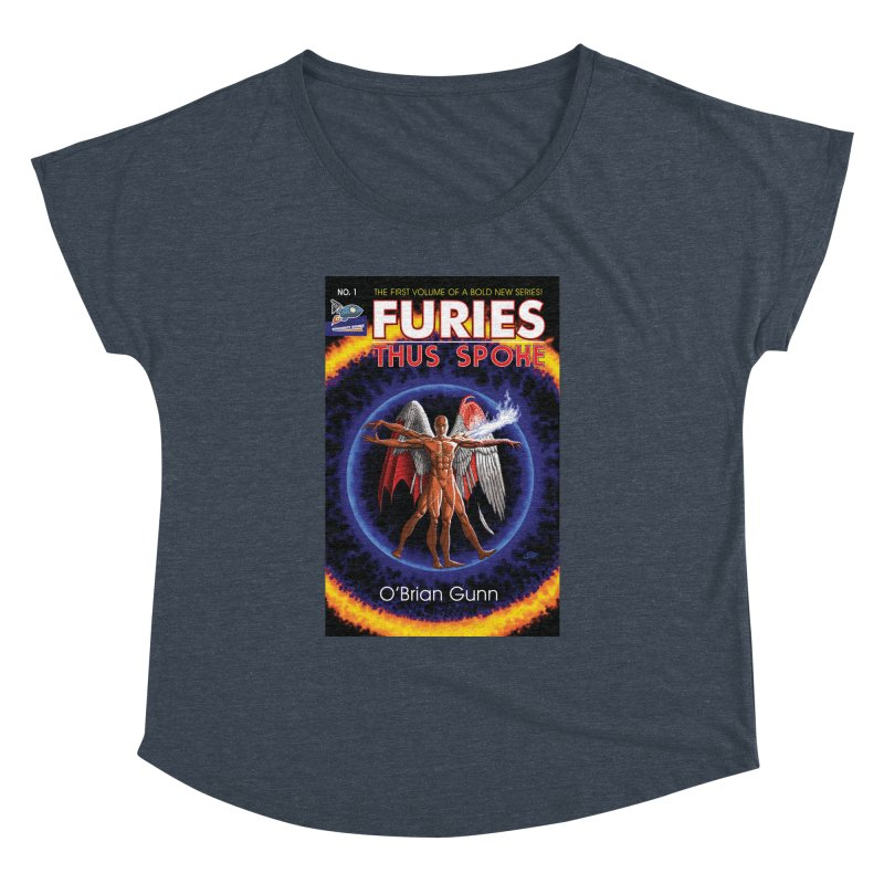Furies: Thus Spoke (Full Cover) Women's Dolman Scoop Neck by Spaceboy Books LLC's Artist Shop