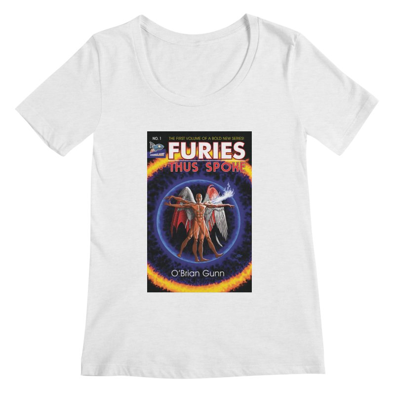 Furies: Thus Spoke (Full Cover) Women's Regular Scoop Neck by Spaceboy Books LLC's Artist Shop