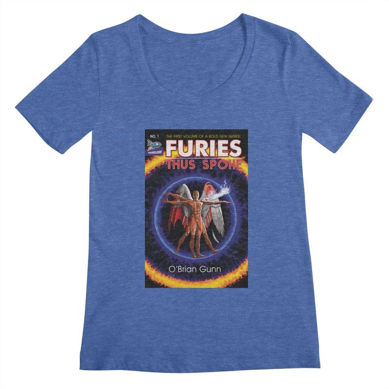 Furies: Thus Spoke (Full Cover) Women's Regular Scoop Neck by Spaceboy Books LLC's Artist Shop