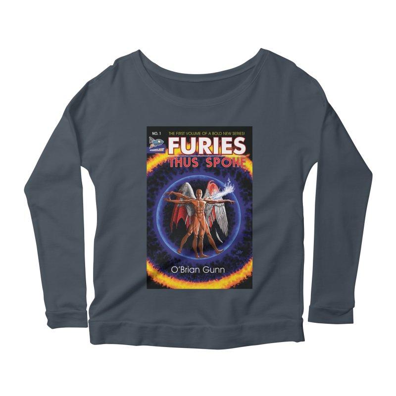 Furies: Thus Spoke (Full Cover) Women's Scoop Neck Longsleeve T-Shirt by Spaceboy Books LLC's Artist Shop