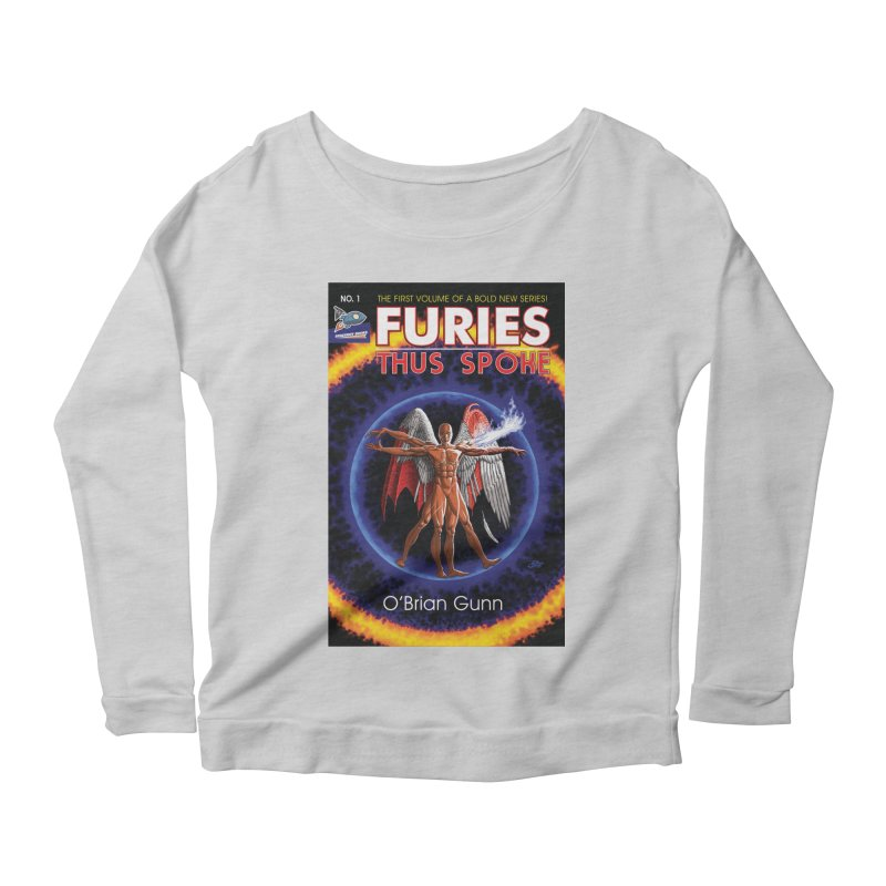 Furies: Thus Spoke (Full Cover) Women's Scoop Neck Longsleeve T-Shirt by Spaceboy Books LLC's Artist Shop
