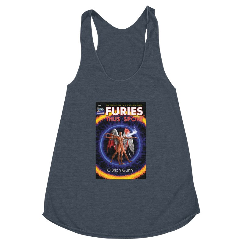 Furies: Thus Spoke (Full Cover) Women's Racerback Triblend Tank by Spaceboy Books LLC's Artist Shop
