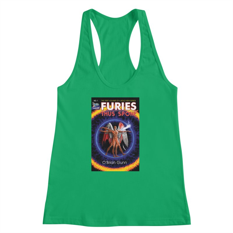 Furies: Thus Spoke (Full Cover) Women's Racerback Tank by Spaceboy Books LLC's Artist Shop