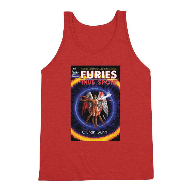 Furies: Thus Spoke (Full Cover) Men's Triblend Tank by Spaceboy Books LLC's Artist Shop
