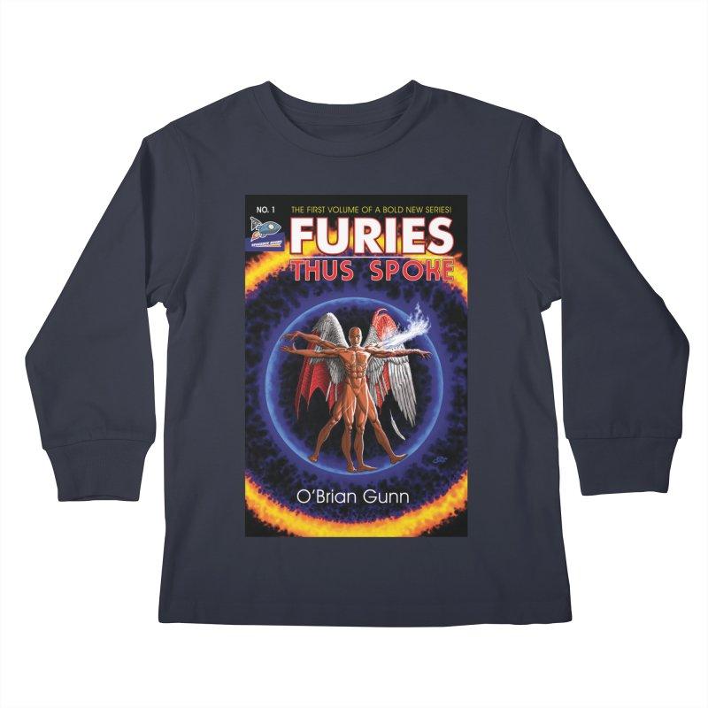 Furies: Thus Spoke (Full Cover) Kids Longsleeve T-Shirt by Spaceboy Books LLC's Artist Shop
