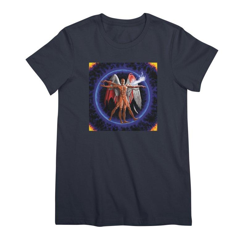 Furies: Thus Spoke (Vitruvian) Women's Premium T-Shirt by Spaceboy Books LLC's Artist Shop