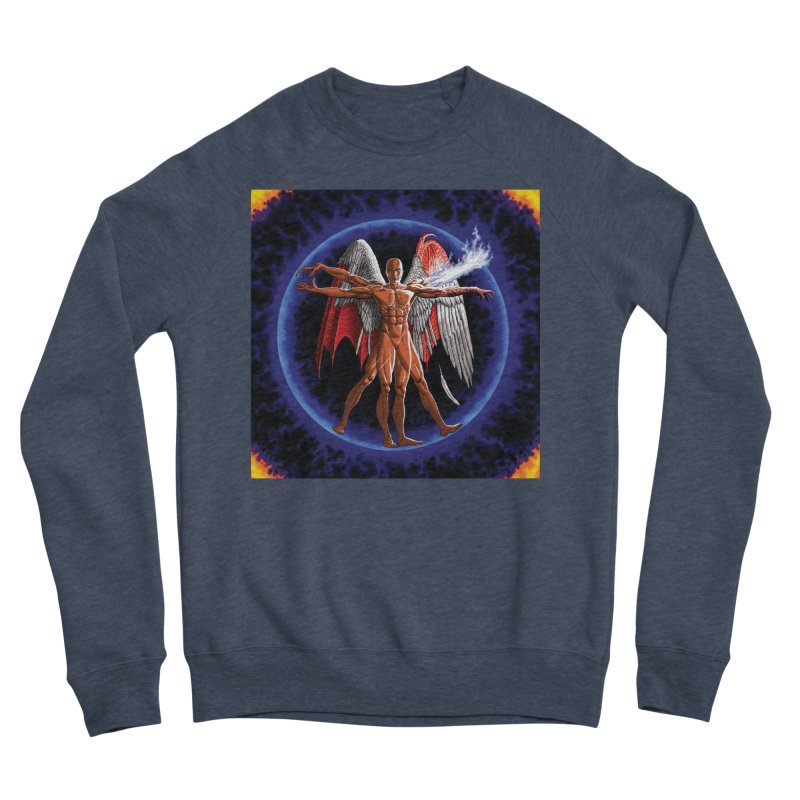 Furies: Thus Spoke (Vitruvian) Women's Sponge Fleece Sweatshirt by Spaceboy Books LLC's Artist Shop