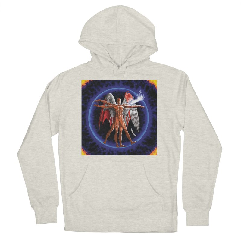 Furies: Thus Spoke (Vitruvian) Men's French Terry Pullover Hoody by Spaceboy Books LLC's Artist Shop