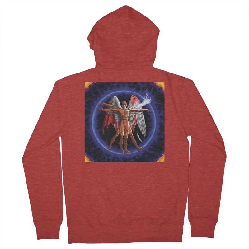Furies: Thus Spoke (Vitruvian) Women's French Terry Zip-Up Hoody by Spaceboy Books LLC's Artist Shop