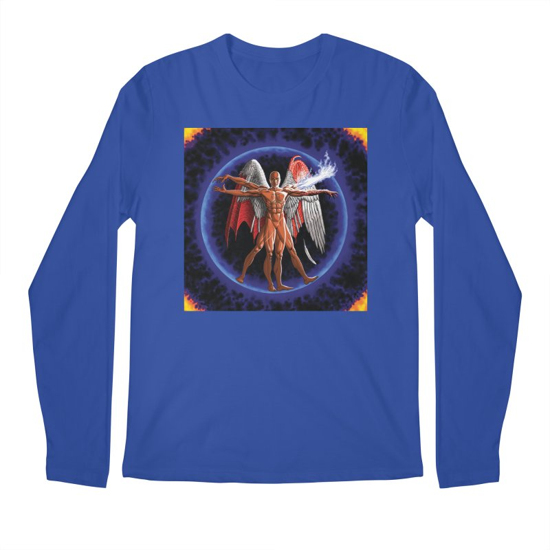 Furies: Thus Spoke (Vitruvian) Men's Regular Longsleeve T-Shirt by Spaceboy Books LLC's Artist Shop