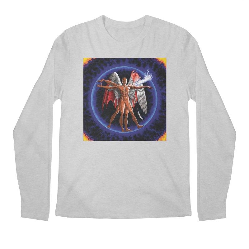Furies: Thus Spoke (Vitruvian) Men's Longsleeve T-Shirt by Spaceboy Books LLC's Artist Shop