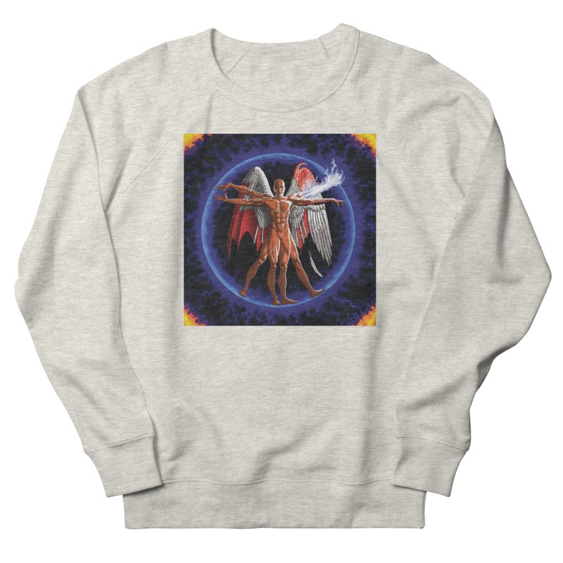Furies: Thus Spoke (Vitruvian) Men's French Terry Sweatshirt by Spaceboy Books LLC's Artist Shop
