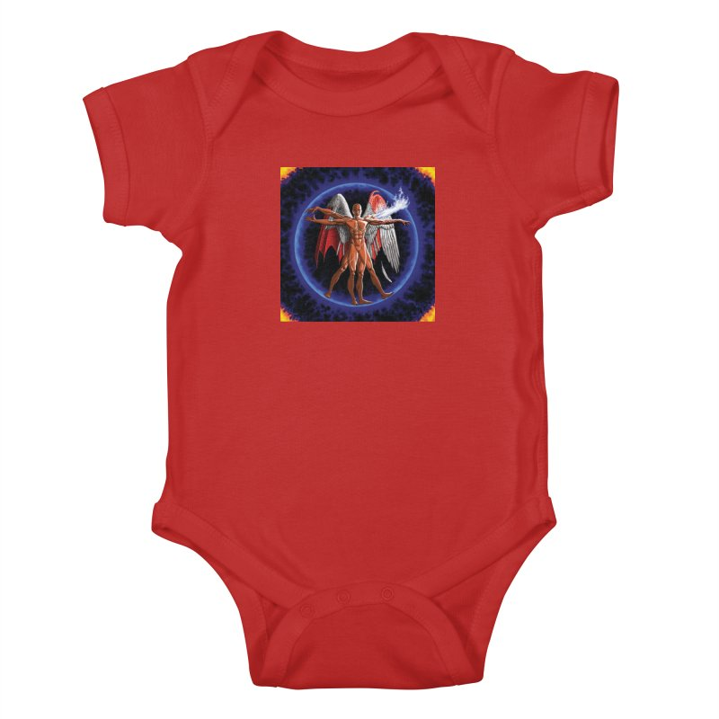 Furies: Thus Spoke (Vitruvian) Kids Baby Bodysuit by Spaceboy Books LLC's Artist Shop