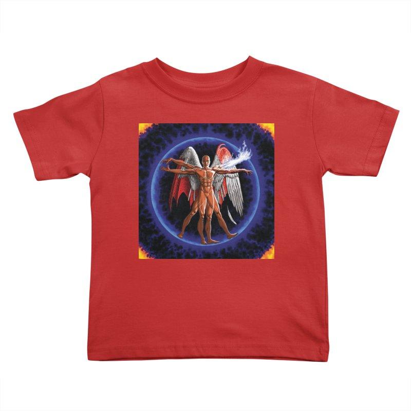 Furies: Thus Spoke (Vitruvian) Kids Toddler T-Shirt by Spaceboy Books LLC's Artist Shop