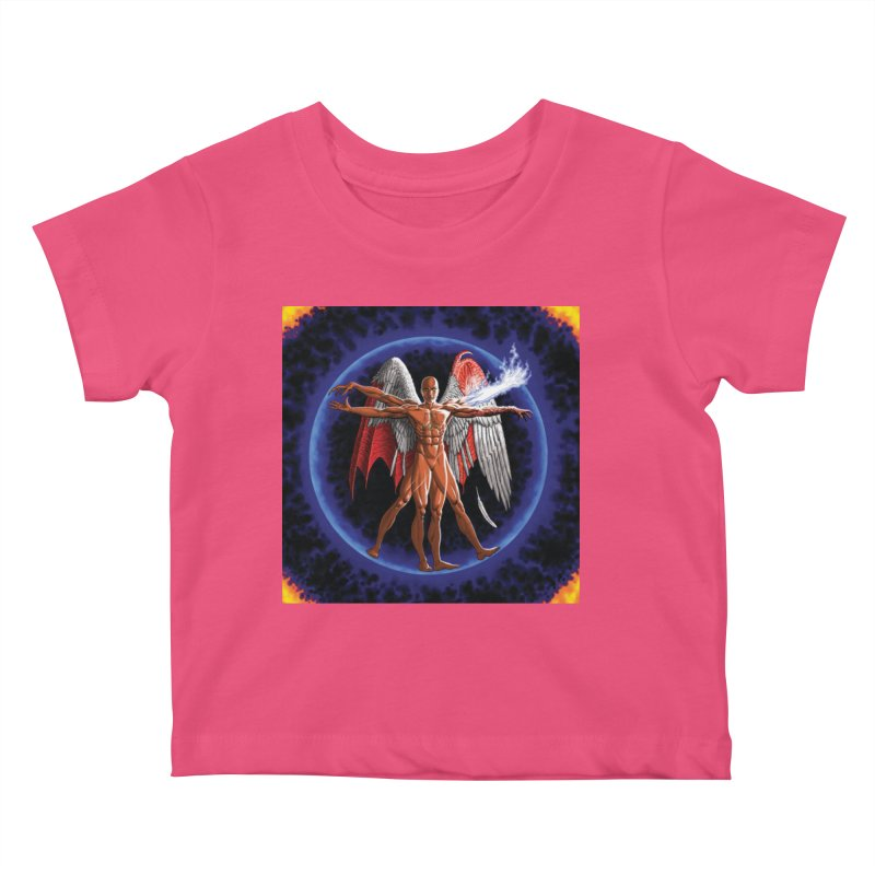 Furies: Thus Spoke (Vitruvian) Kids Baby T-Shirt by Spaceboy Books LLC's Artist Shop
