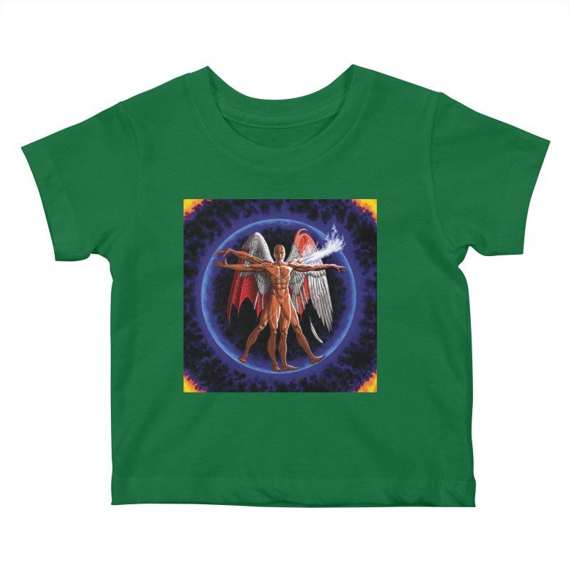 Furies: Thus Spoke (Vitruvian) Kids Baby T-Shirt by Spaceboy Books LLC's Artist Shop