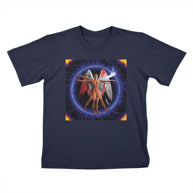 Furies: Thus Spoke (Vitruvian) Kids T-Shirt by Spaceboy Books LLC's Artist Shop