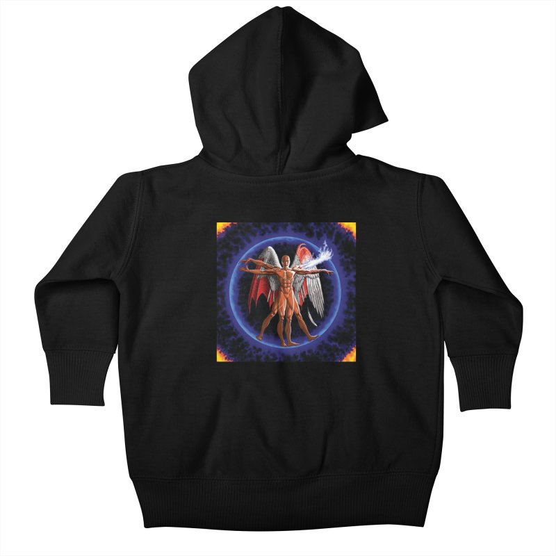 Furies: Thus Spoke (Vitruvian) Kids Baby Zip-Up Hoody by Spaceboy Books LLC's Artist Shop