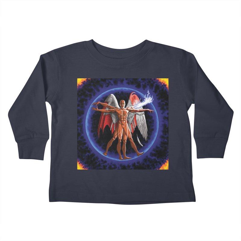 Furies: Thus Spoke (Vitruvian) Kids Toddler Longsleeve T-Shirt by Spaceboy Books LLC's Artist Shop