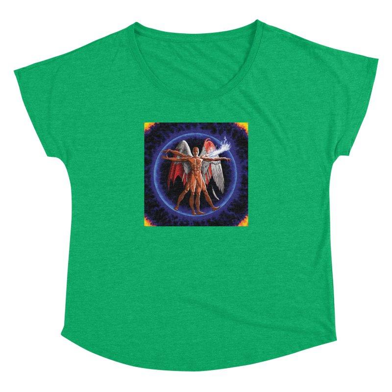Furies: Thus Spoke (Vitruvian) Women's Dolman Scoop Neck by Spaceboy Books LLC's Artist Shop