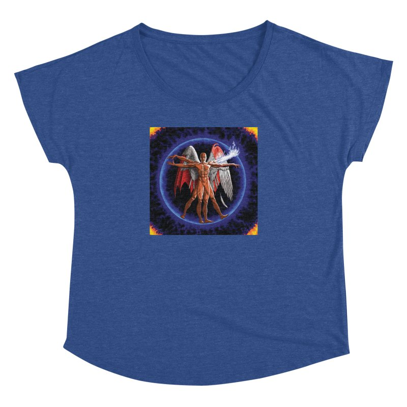 Furies: Thus Spoke (Vitruvian) Women's Dolman Scoop Neck by Spaceboy Books LLC's Artist Shop