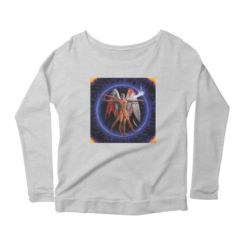 Furies: Thus Spoke (Vitruvian) Women's Scoop Neck Longsleeve T-Shirt by Spaceboy Books LLC's Artist Shop