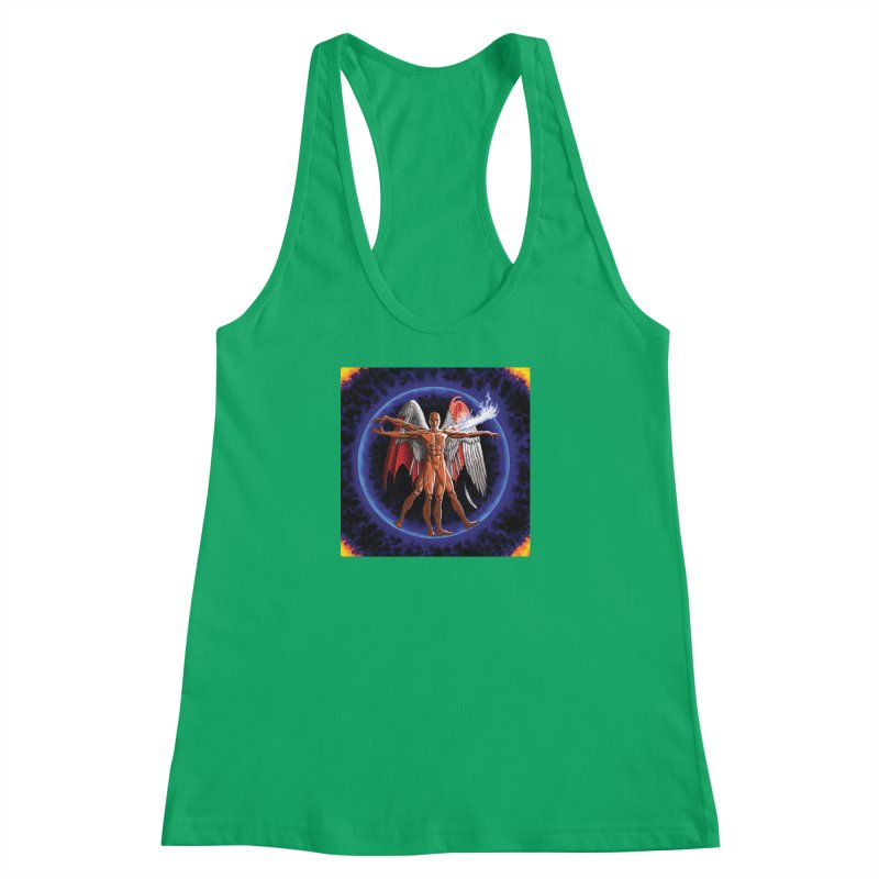 Furies: Thus Spoke (Vitruvian) Women's Racerback Tank by Spaceboy Books LLC's Artist Shop