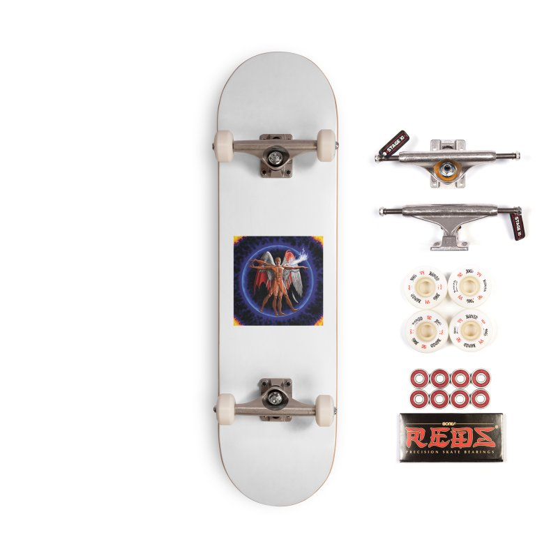 Furies: Thus Spoke (Vitruvian) Accessories Complete - Pro Skateboard by Spaceboy Books LLC's Artist Shop
