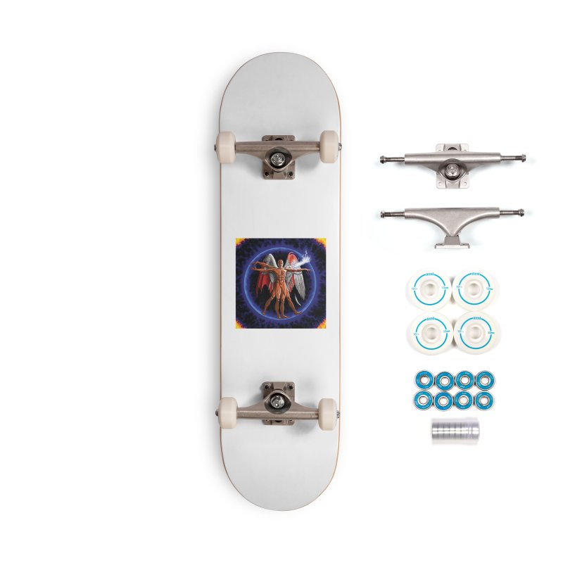 Furies: Thus Spoke (Vitruvian) Accessories Complete - Basic Skateboard by Spaceboy Books LLC's Artist Shop