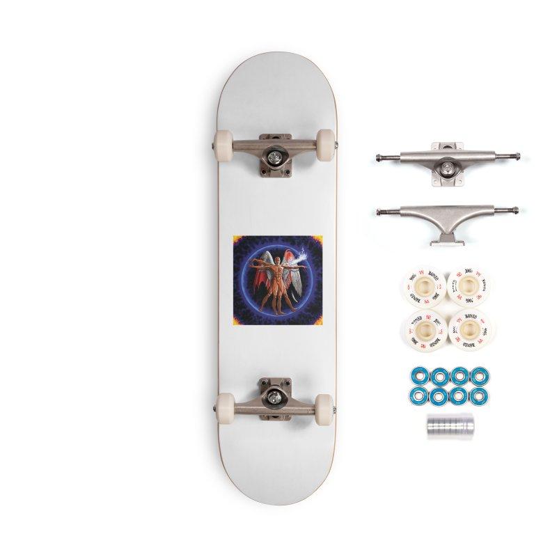 Furies: Thus Spoke (Vitruvian) Accessories Complete - Premium Skateboard by Spaceboy Books LLC's Artist Shop