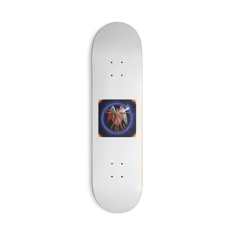 Furies: Thus Spoke (Vitruvian) Accessories Deck Only Skateboard by Spaceboy Books LLC's Artist Shop
