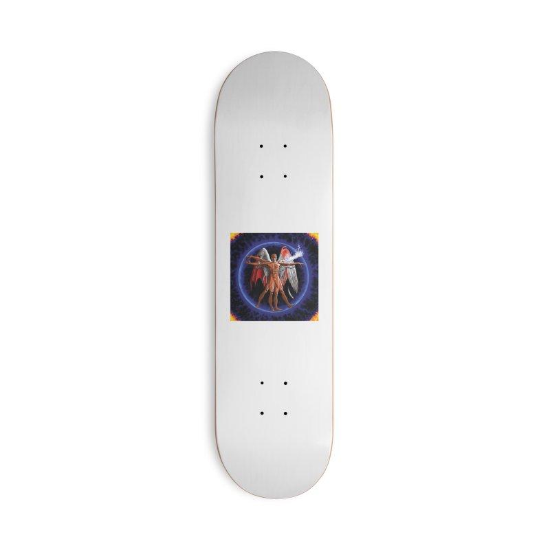 Furies: Thus Spoke (Vitruvian) Accessories Skateboard by Spaceboy Books LLC's Artist Shop