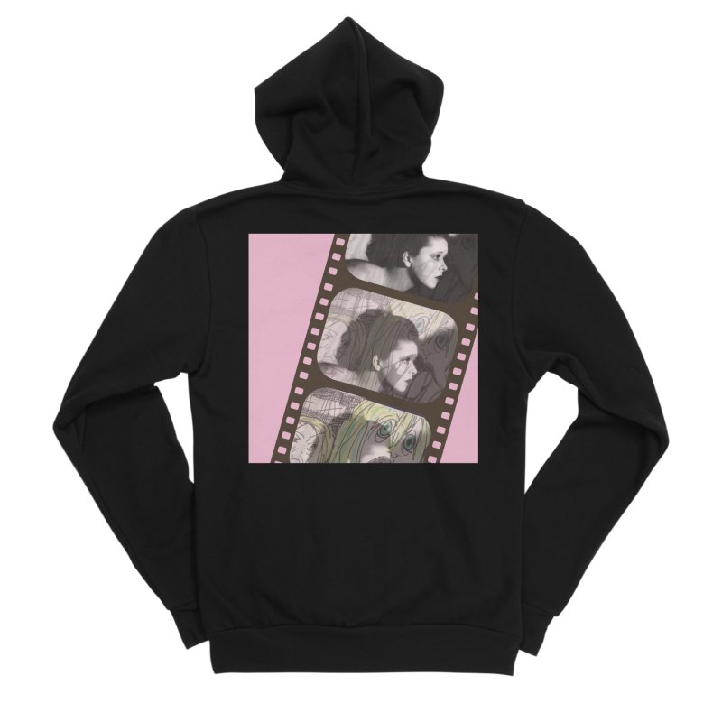 Ivy Day (artwork only) Women's Sponge Fleece Zip-Up Hoody by Spaceboy Books LLC's Artist Shop