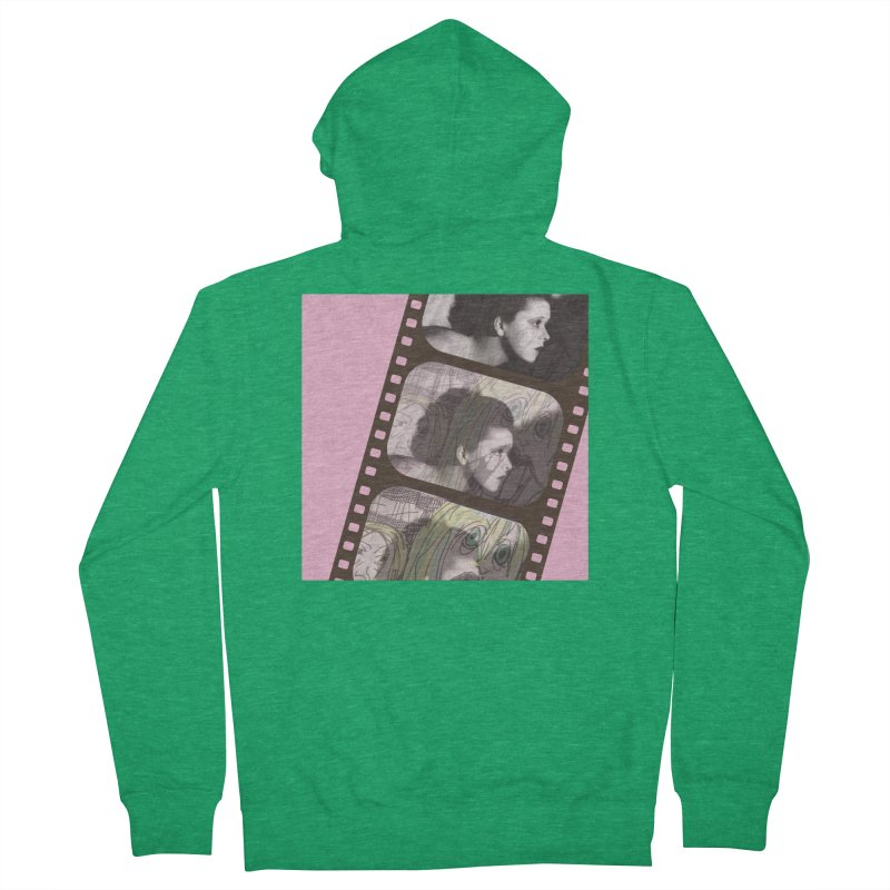 Ivy Day (artwork only) Women's French Terry Zip-Up Hoody by Spaceboy Books LLC's Artist Shop