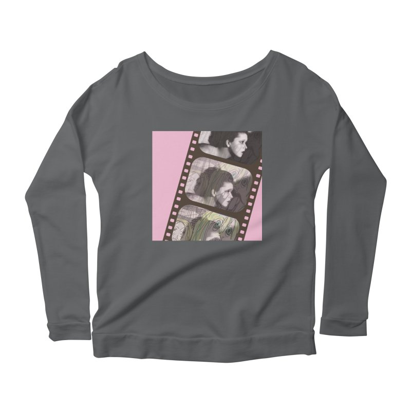 Ivy Day (artwork only) Women's Scoop Neck Longsleeve T-Shirt by Spaceboy Books LLC's Artist Shop