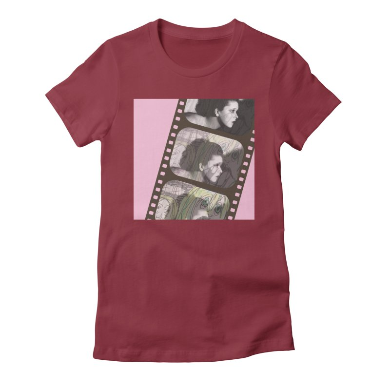 Ivy Day (artwork only) Women's Fitted T-Shirt by Spaceboy Books LLC's Artist Shop