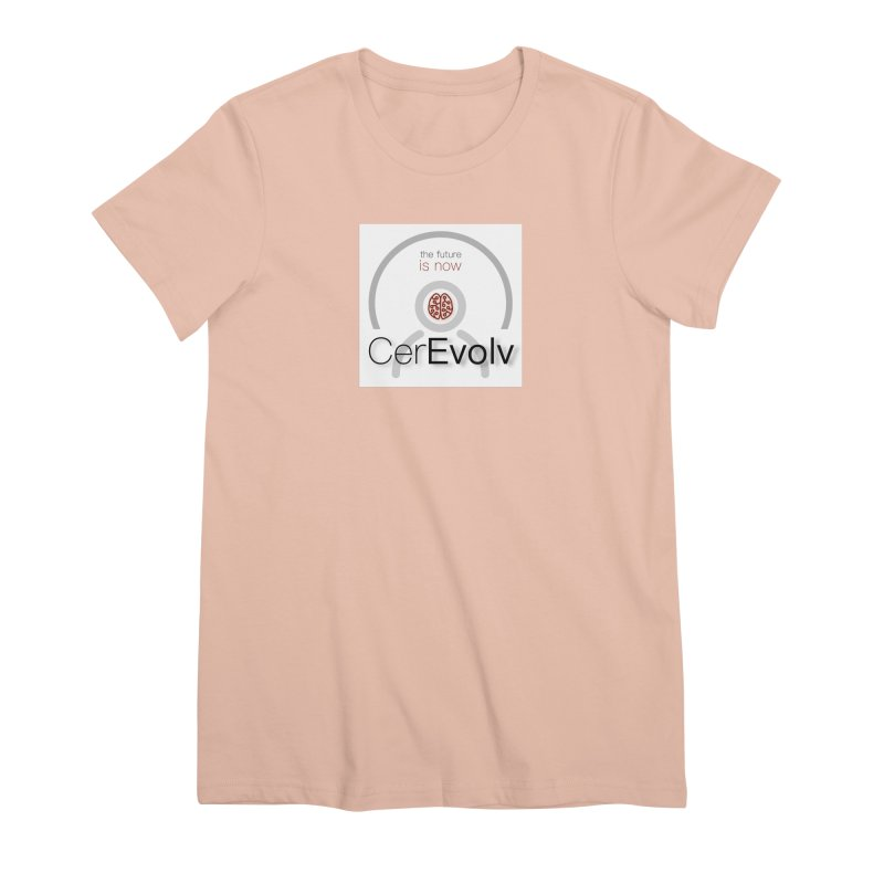 CerEvolv Logo (We Lost the Sky) Women's Premium T-Shirt by Spaceboy Books LLC's Artist Shop