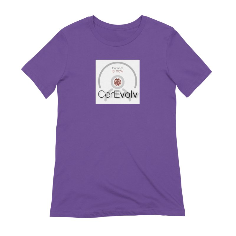 CerEvolv Logo (We Lost the Sky) Women's Extra Soft T-Shirt by Spaceboy Books LLC's Artist Shop