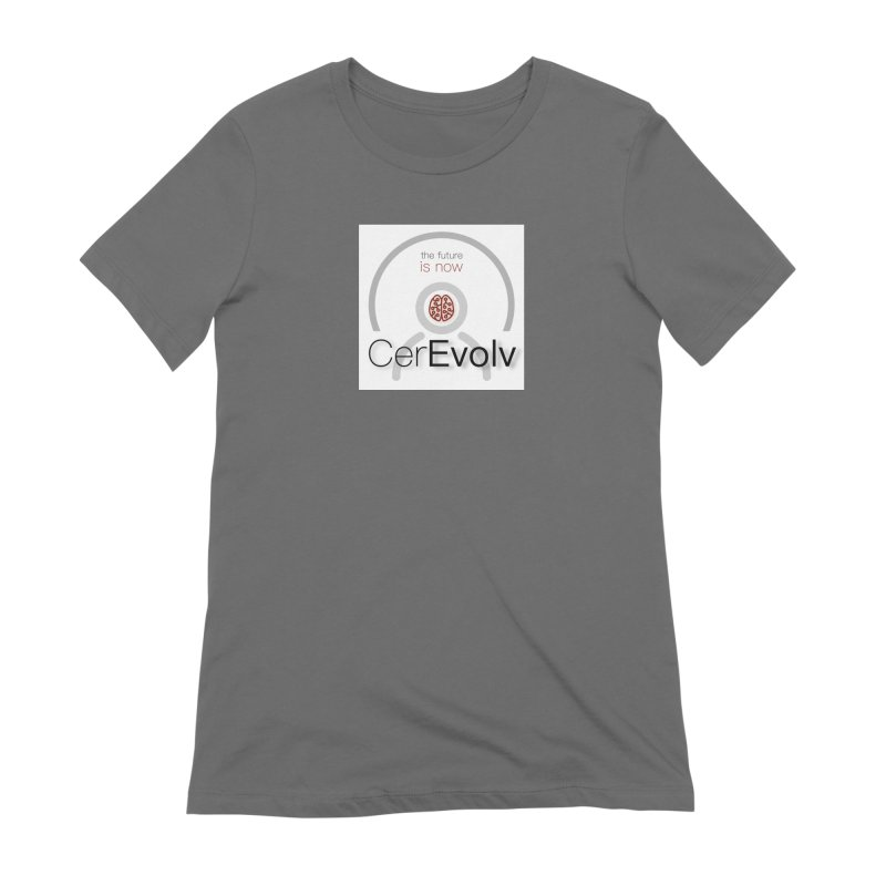 CerEvolv Logo (We Lost the Sky) Women's T-Shirt by Spaceboy Books LLC's Artist Shop
