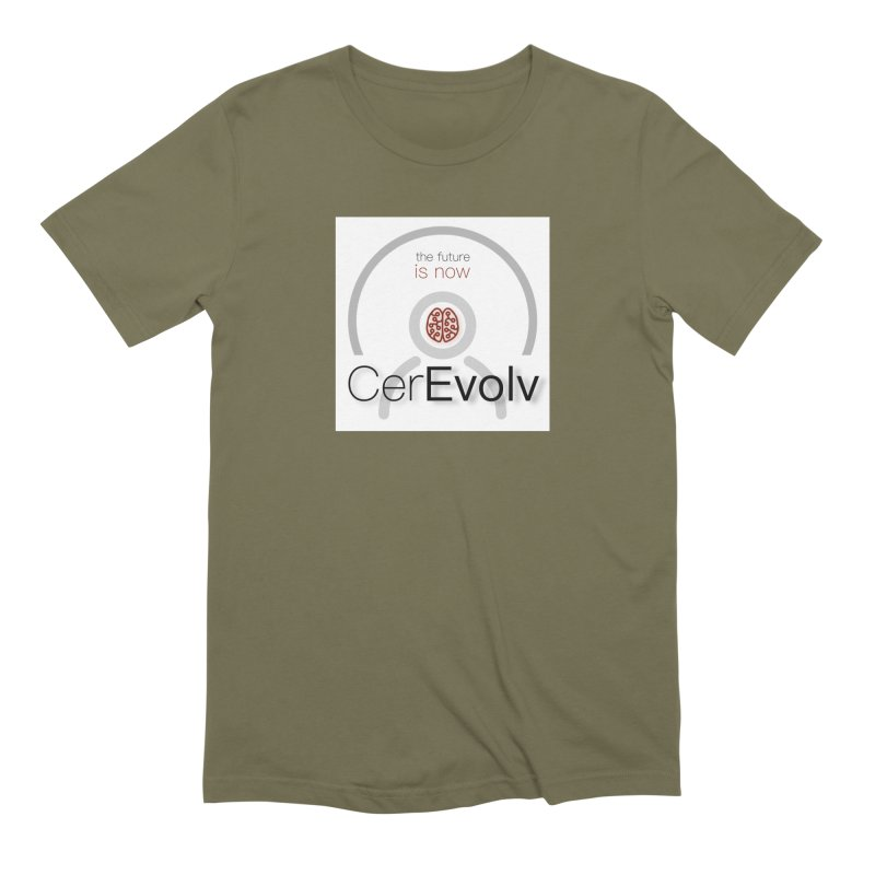 CerEvolv Logo (We Lost the Sky) Men's Extra Soft T-Shirt by Spaceboy Books LLC's Artist Shop
