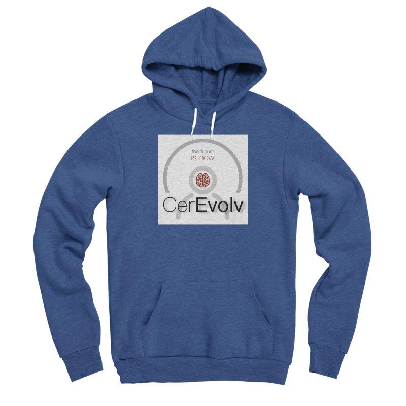 CerEvolv Logo (We Lost the Sky) Women's Sponge Fleece Pullover Hoody by Spaceboy Books LLC's Artist Shop