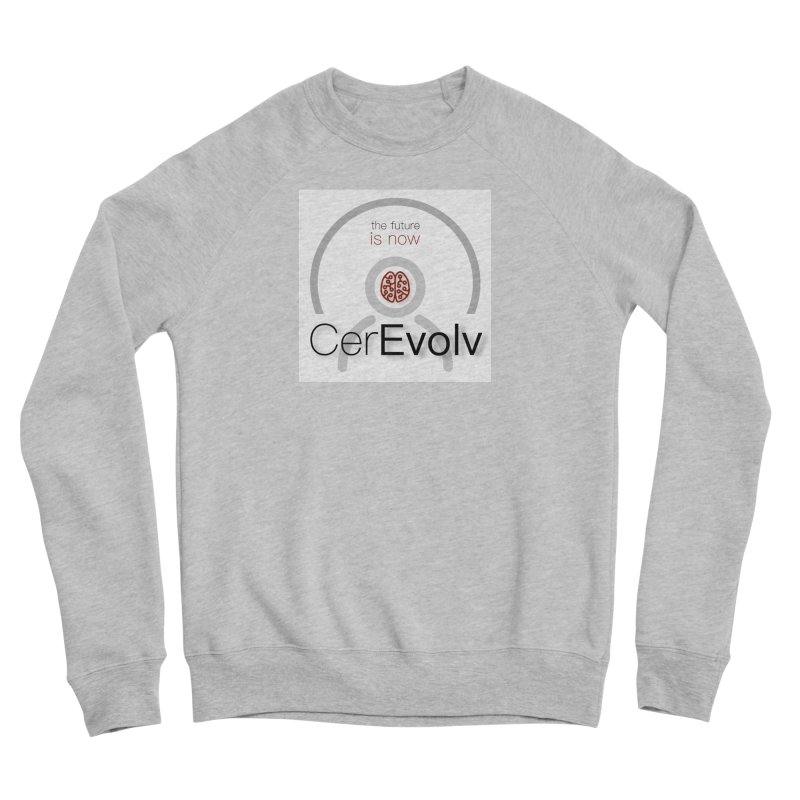 CerEvolv Logo (We Lost the Sky) Men's Sponge Fleece Sweatshirt by Spaceboy Books LLC's Artist Shop