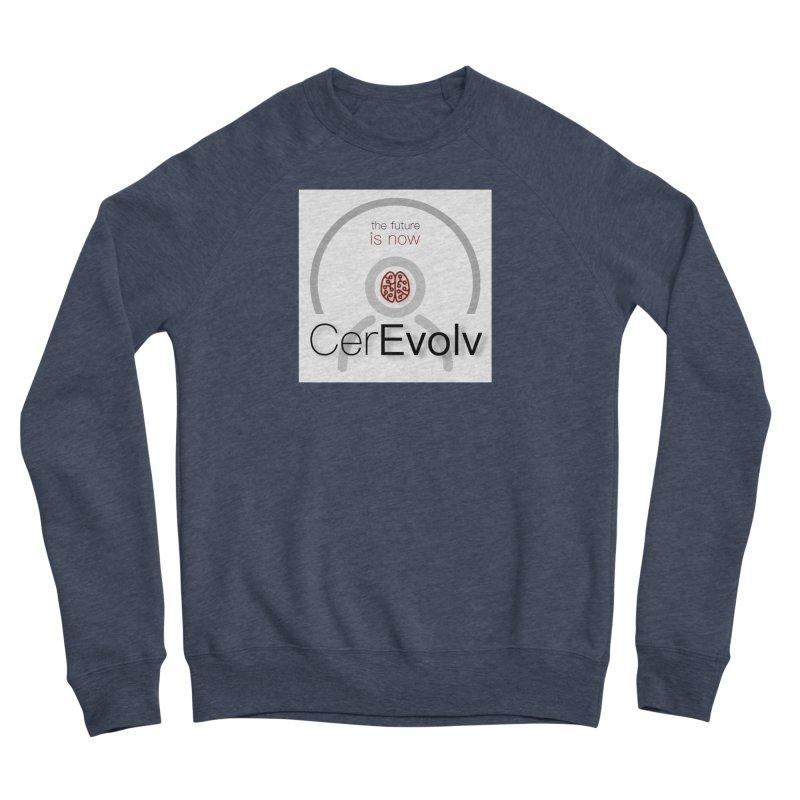 CerEvolv Logo (We Lost the Sky) Men's Sponge Fleece Sweatshirt by Spaceboy Books LLC's Artist Shop