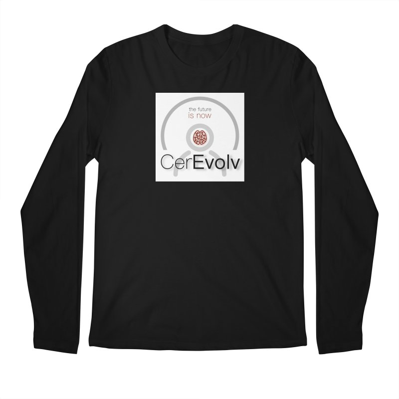 CerEvolv Logo (We Lost the Sky) Men's Longsleeve T-Shirt by Spaceboy Books LLC's Artist Shop