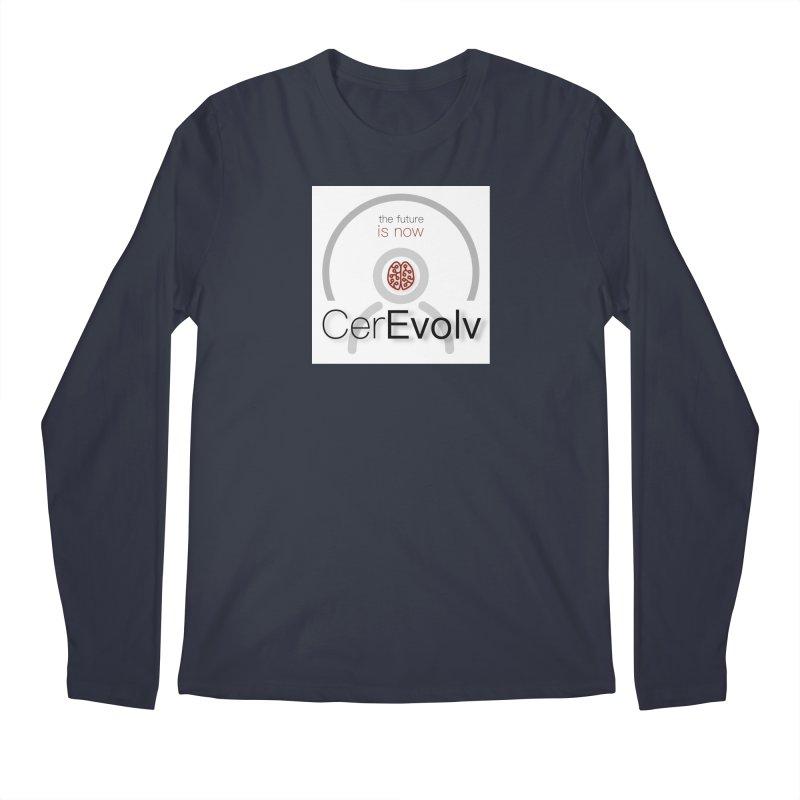 CerEvolv Logo (We Lost the Sky) Men's Longsleeve T-Shirt by Spaceboy Books LLC's Artist Shop